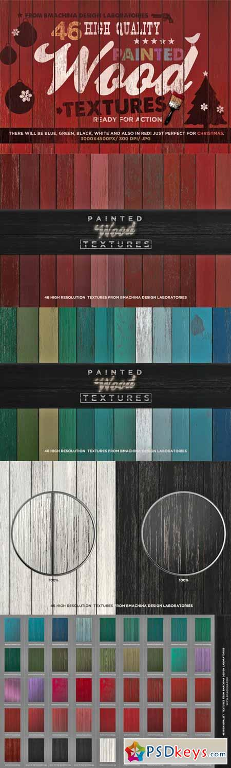 Painted Wood Textures 128781