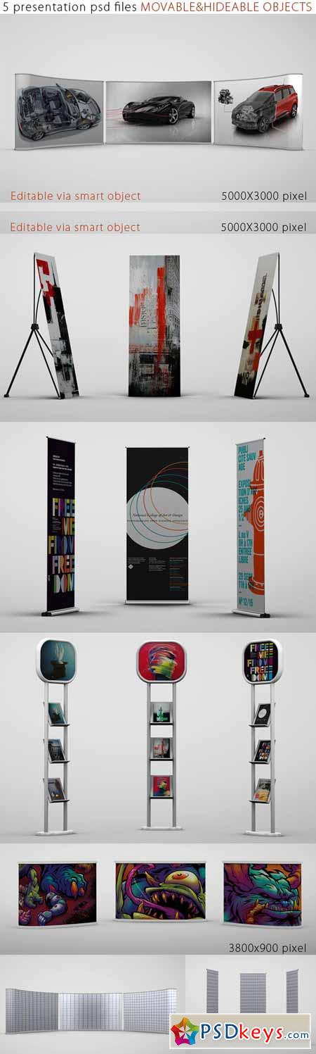 Trade Show Booth Mock Ups 216642 » Free Download Photoshop Vector