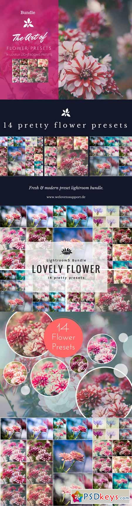Pretty Flower Preset Bundle 216101