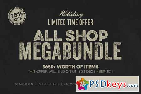 All Shop MegaBundle Limited Offer 125297