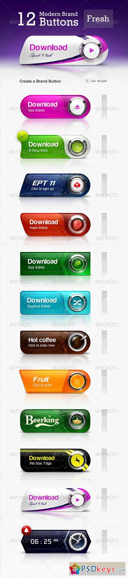 Brand Buttons 4443375