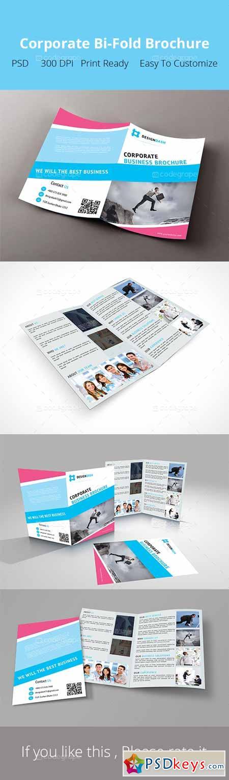 bi fold brochure dimensions
