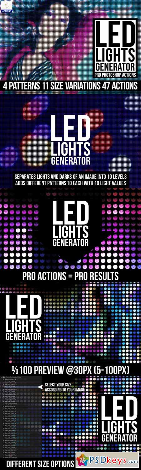 Led Lights Generator PS Actions 222119