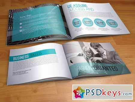 Bi-fold Web Solutions A4 Brochure 221313