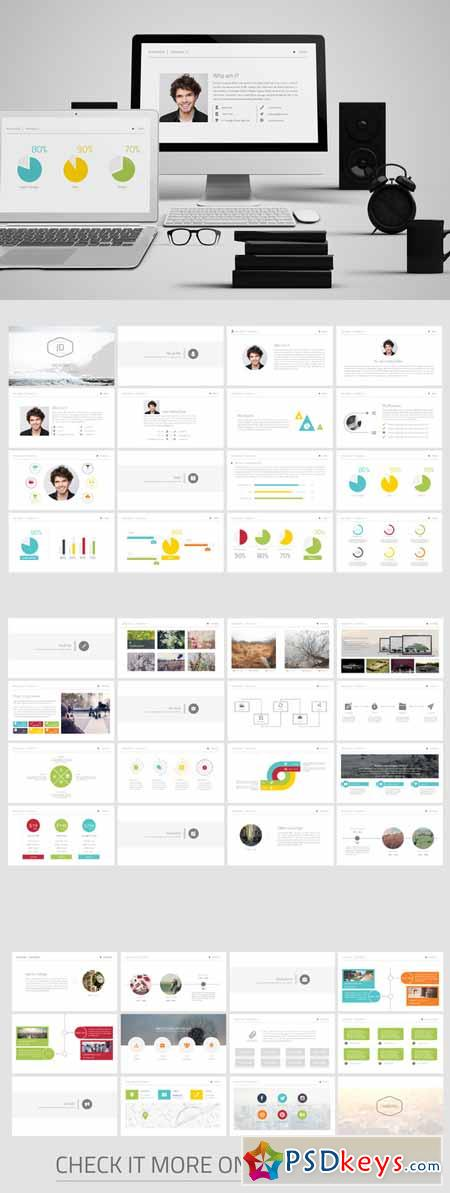 personal cv powerpoint template 222531  u00bb free download photoshop vector stock image via torrent