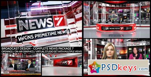 Broadcast Design - Complete News Package 7 - After Effects