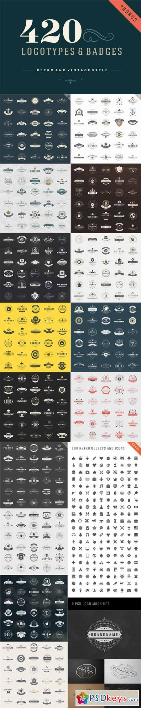 420 Vintage logotypes and badges 221794