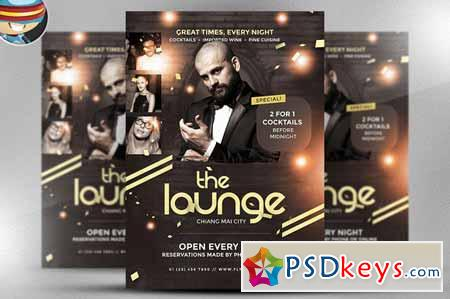 The Lounge Flyer Template 166559