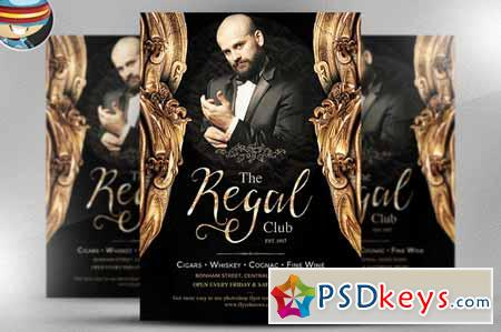 The Regal Flyer Template 145362