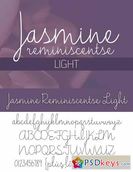 Jasmine Reminiscentse Light 180413