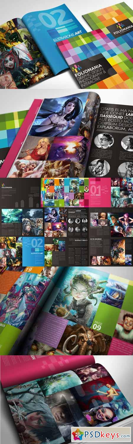 Foliomania the designer portfolio 221523