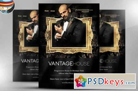 Vantage House Flyer Template 55259
