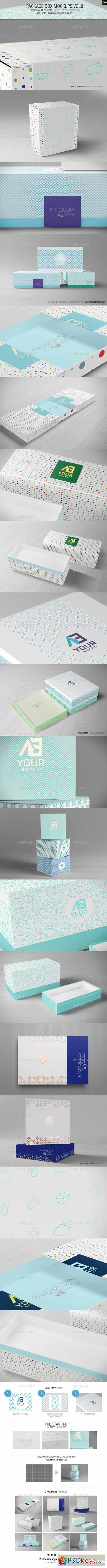 Package Box Mockups Vol8 10704514 » Free Download Photoshop