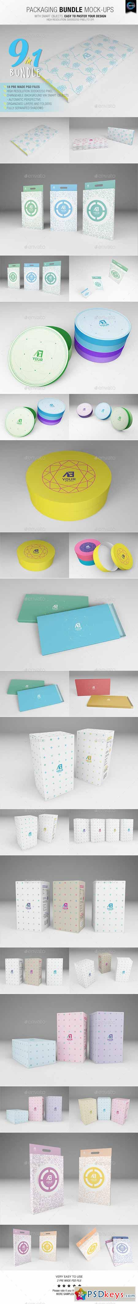 Packaging Bundle Mock-Ups 10754980