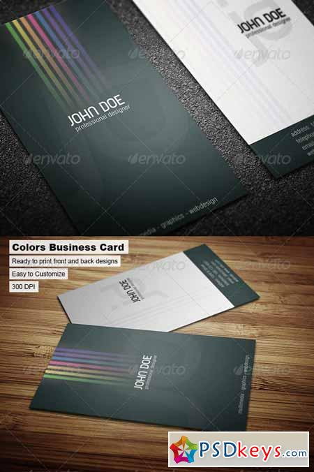 Colors Business Card 43172