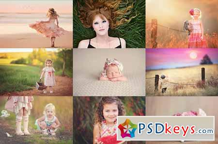 PTM Grace & Luminosity Bundle Photoshop Actions