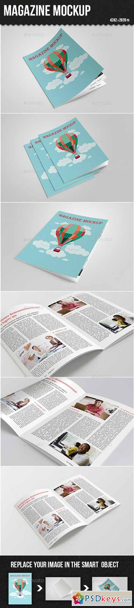 Magazine Mock-up 10175595