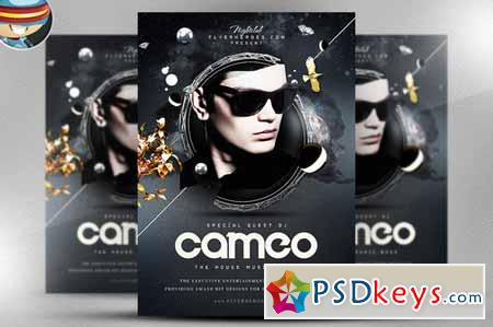 Cameo PSD Flyer Template 29255