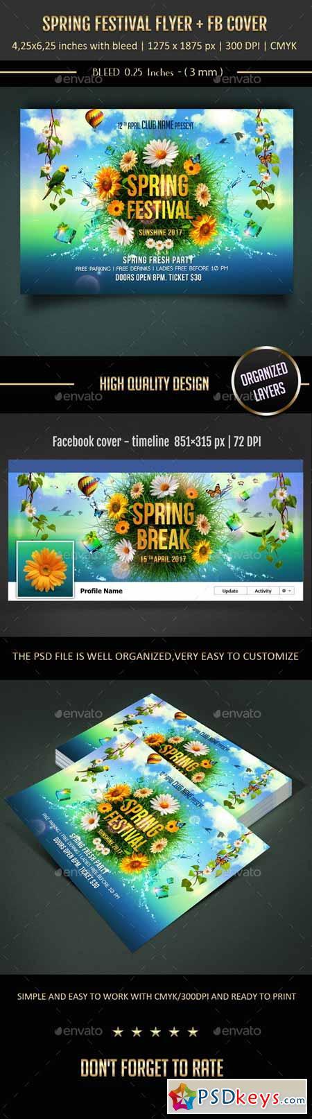 Spring Festival Flyer 10629889