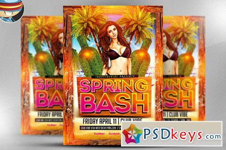 Spring Bash Flyer Template 28178