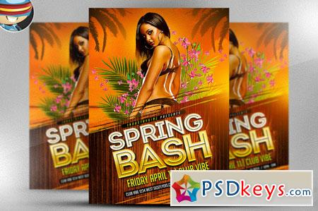 Spring Bash Flyer Template 2 28177
