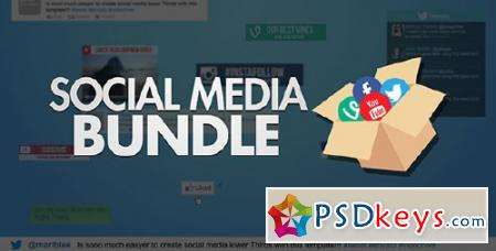 Social Media Bundle - After Effects Projects