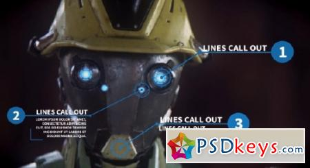 Argon - 30 Line Call Outs - After Effects Projects