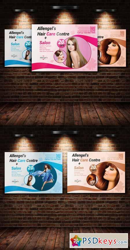 Hair Salon Flyer Template 235888