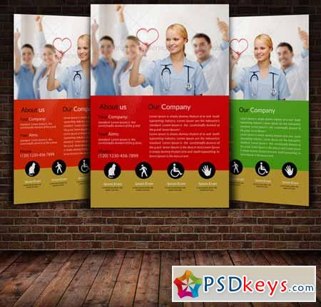 Medical Flyer Template 225036 Free Download Photoshop Vector Stock