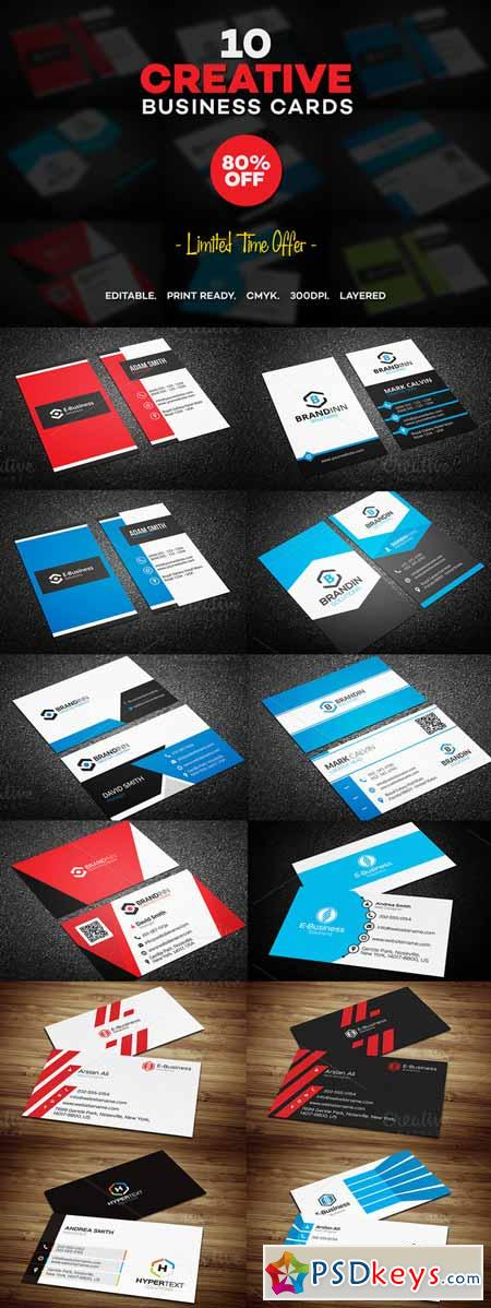 10 creative business card templates 238323 free download photoshop 10 creative business card templates 238323 accmission Gallery