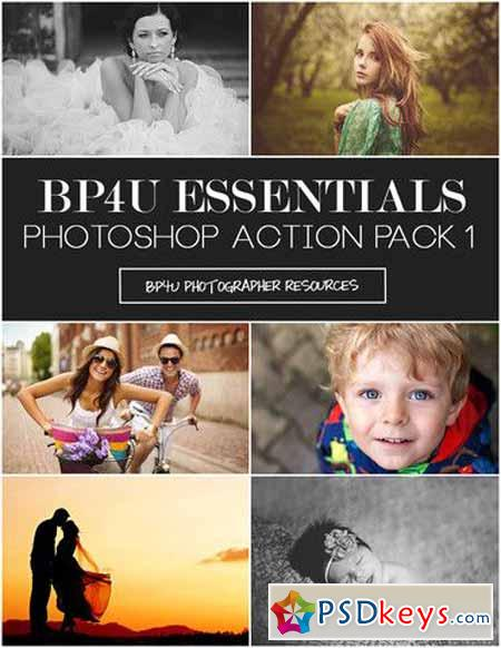 Essentials Photoshop Action Pack 1