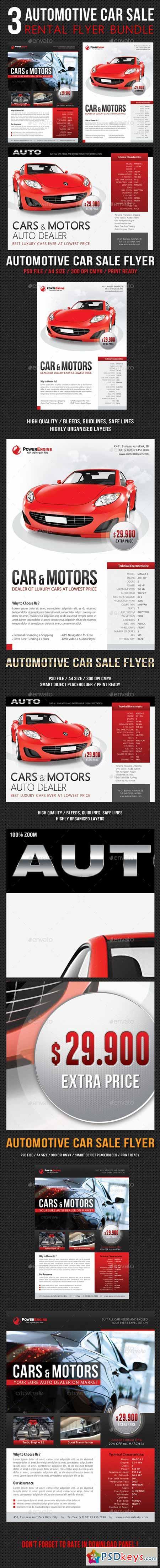 car rental flyer template – Car Sale Flyer