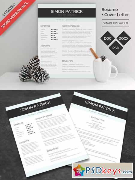 smart word cv  u0026 cover letter 164288  u00bb free download photoshop vector stock image via torrent