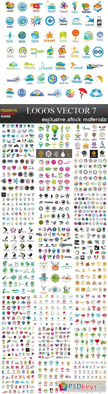 Logos - Vector Collection 7, 25xEPS » Free Download