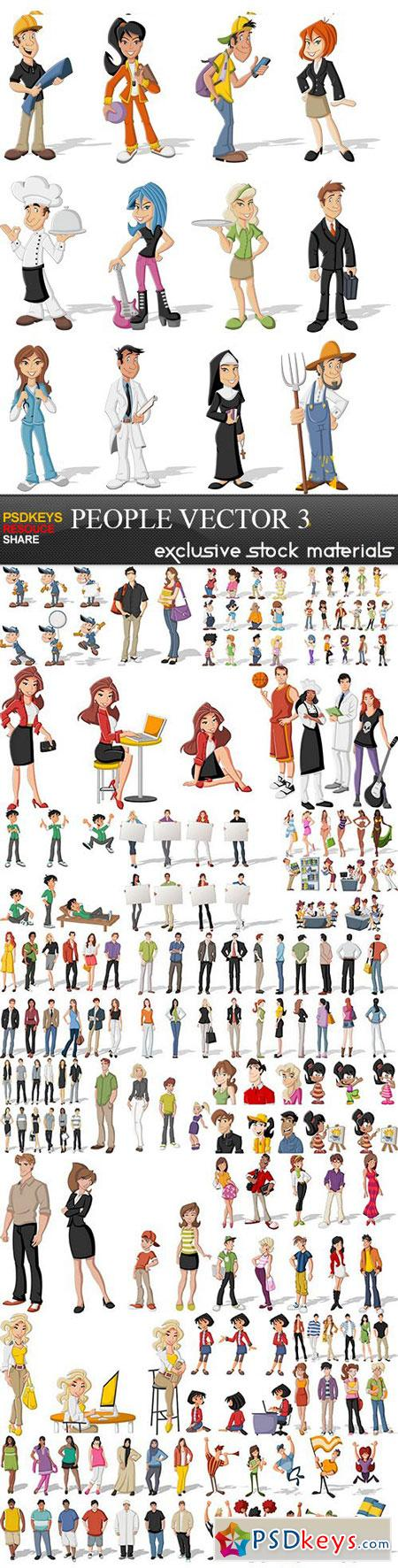 T shirt design 7 25xeps - People Vector Collection 3 25xeps