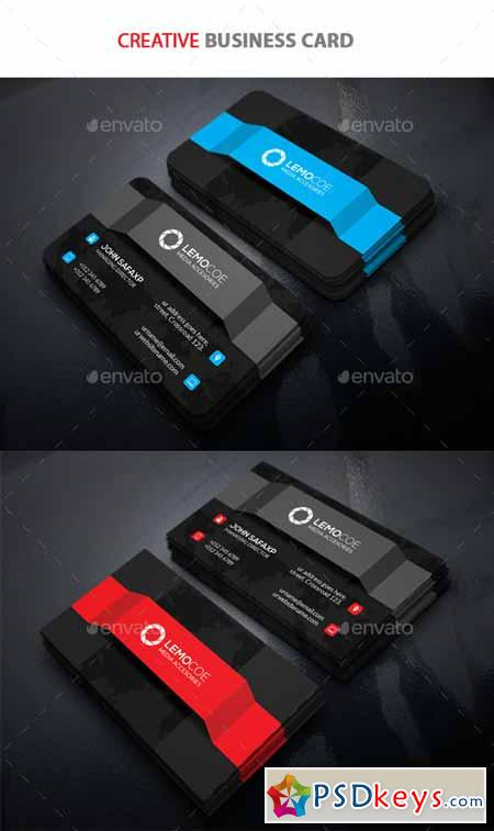 Creative business card 11037357 free download photoshop vector creative business card 11037357 reheart Choice Image