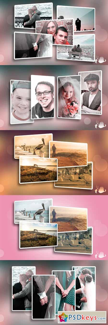 Memories - Photo frame template 242735