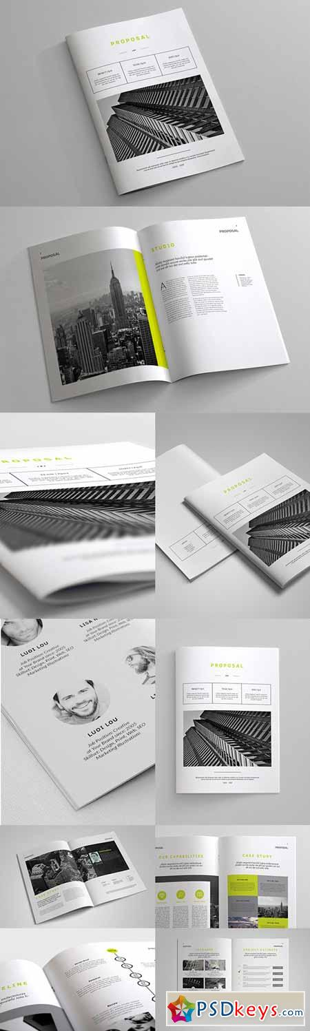 Indesign Business Proposal Template 245878 » Free Download Photoshop ...