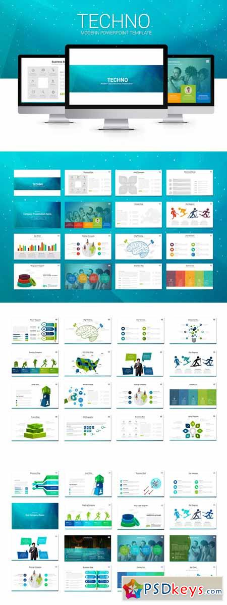 Techno modern powerpoint template 245630 free download for Powerpoint templates torrents