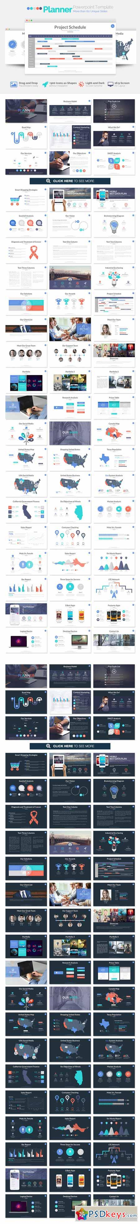 Planner Powerpoint Template 247253