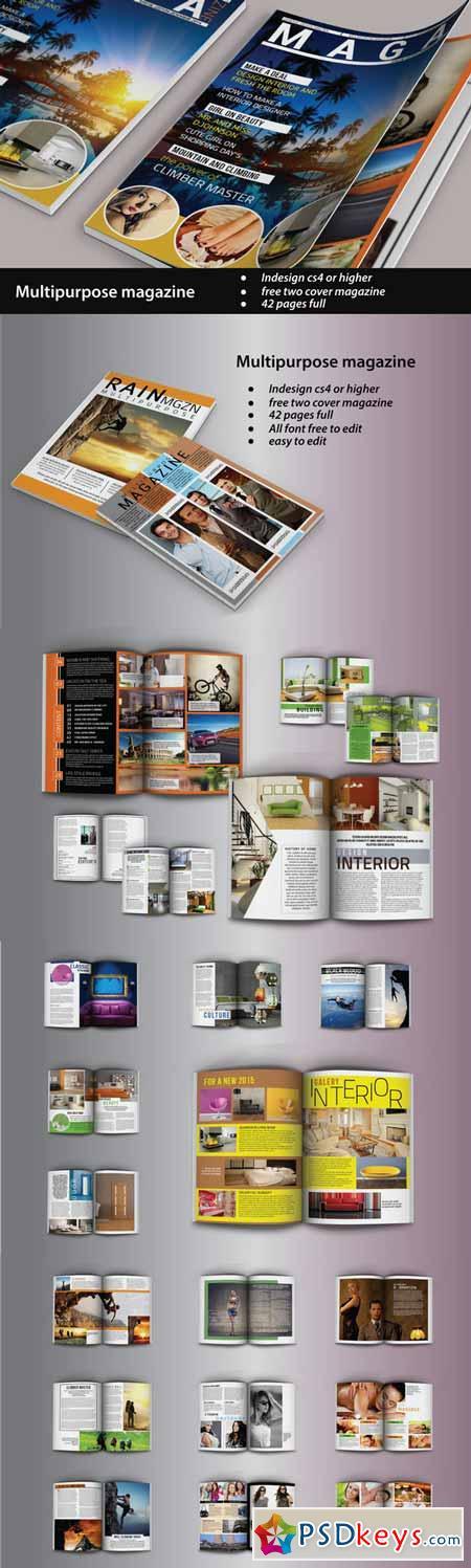 Multipurpose Magazine 249312