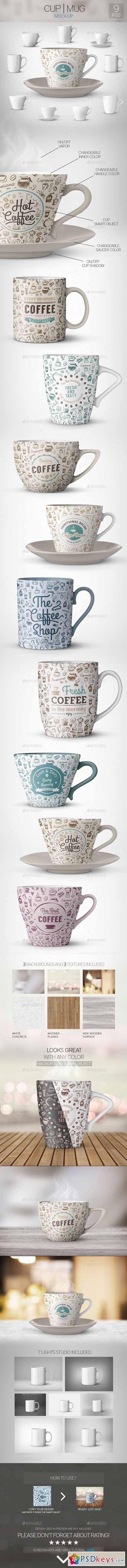 Cup Mug Mock-Up 10996648