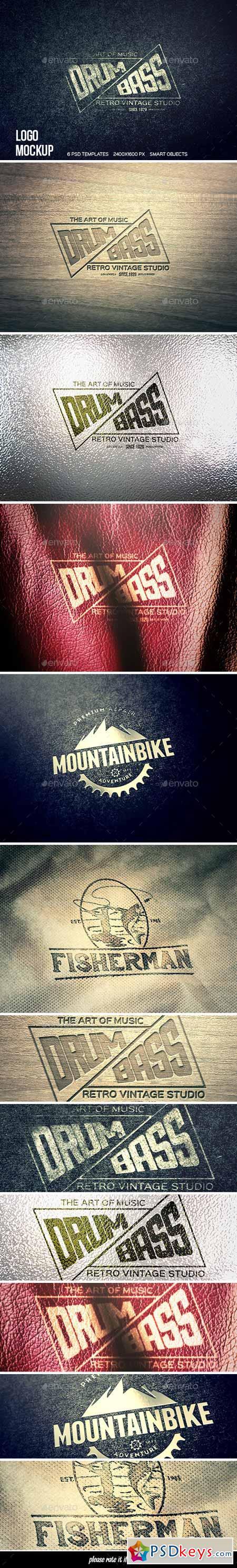 Logo Mockup 10986310
