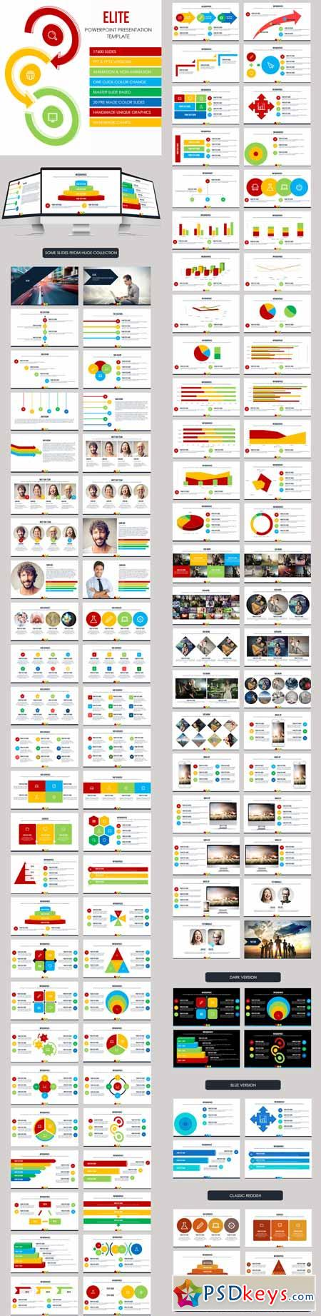 elite - multipurpose presentation template 9947185 » free download, Presentation templates