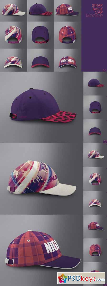 Strapback Cap Mock-up 255280