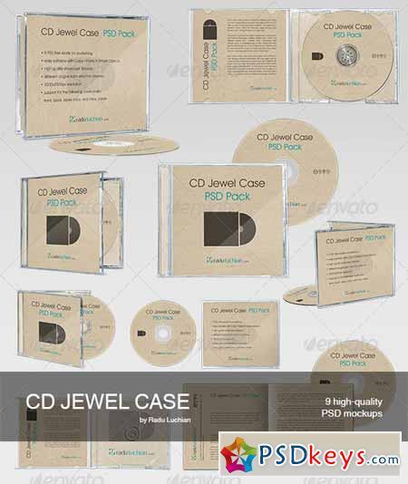 cd case mockup