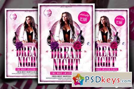 Dream Night Flyer Template 89999