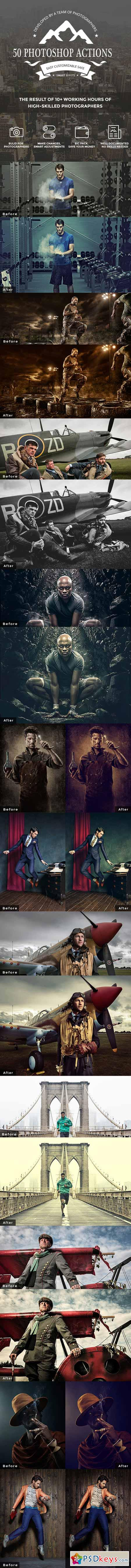 50 Photoshop Actions 11324570