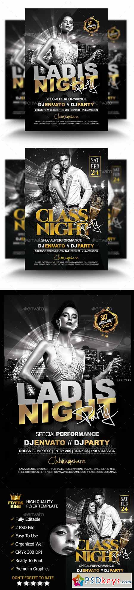 2 Classy Night Flyer ( Two Theme ) 11285973
