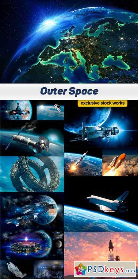 Outer Space - 15 UHQ JPEG